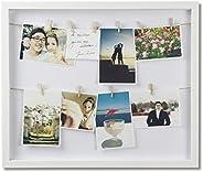 (أبيض) - إطارات صور أومبرا ، صندوق ظلال ملابس