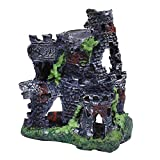 Best Fish Tank Decorations - Foodie Puppies Haunted Resin Old Fort Tower Review