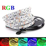 #8: Jump Start Remote Flexible RGB LED Strip 5050 Light-Color Changing Decoration Light with IR Controller (5M)