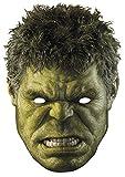 Star Cutouts–stsm218–Maske für Erwachsene Hulk–Avengers