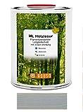 asuso ml Lasure bois longue protection de couleur gris argenté 0,75L GEBINDE