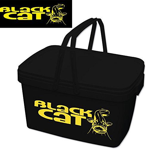 Black Cat BC Universal Eimer, schwarz/gelb, Höhe, Tiefe:29 cm