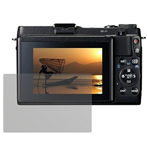 Galleria fotografica dipos Pellicola protettiva per Canon Powershot G1X Mark II (confezione da 6 pezzi) - antiriflesso pellicola di protezione del display