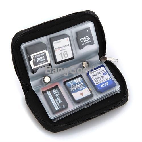 Generic dyhp-a10-code-5093-class-1-- Supporto Custodia a portafoglio di storage Pouch der W 22RD Stor SD SDHC MMC CF Micro F microfono memoria SD SDHC mm--dyhp-uk10-160819-3120