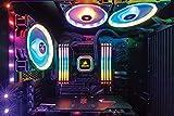 Corsair Vengeance RGB PRO 16 GB (2 x 8 GB) DDR4 3200 MHz C16 XMP 2.0 Enthusiast RGB LED Illuminated Memory Kit - Black - 8