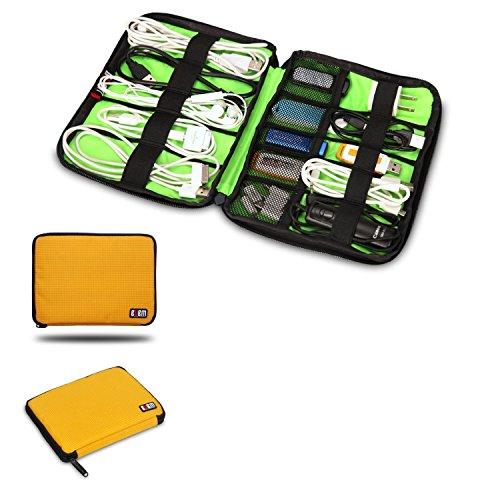 BUBM Kopfhörer Universal Kabel Organizer Elektronik Zubehör Case USB Drive Shuttle/Healthcare & Pflege-Kit
