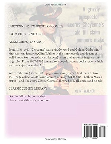 Cheyenne #5: TV Western Comics: From Cheyenne #17-19 --- All Stories --- No Ads