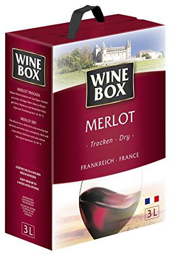 Wine Box Merlot IGP Pays d'Oc trocken Bag-in-Box (1 x 3 l)
