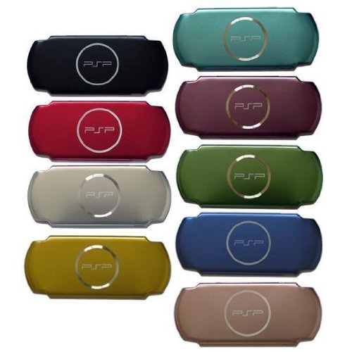Psp 3000 Compatible Aluminum Shell Case Color Deep Purple