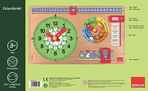 51319De Alemándiset CalendarioEn Goula Reloj Diset CxrdoeB