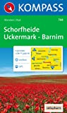 Schorfheide, Uckermark, Barnim: 1:50.000. Wanderkarte mit Kurzführer und Radwegen. GPS-geeignet