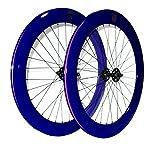 Paar-Rollen mowheel oder Single Speed Fixie Fahrrad. Profil 70mm