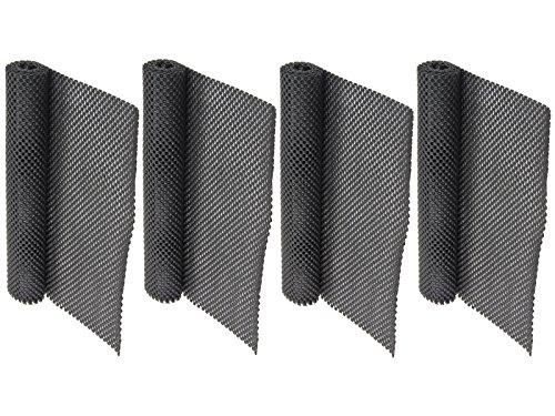Ability Superstore – Anti-Rutschmatte, schwarz, 4er Pack