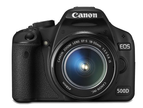 Canon EOS 500D SLR-Digitalkamera (15 MP, LiveView, HD-Video, inkl. 18-55mm DC Kit) Canon Ifc-200u Usb