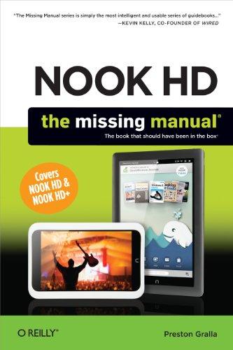 NOOK HD: The Missing Manual (English Edition) eBook: Preston ...
