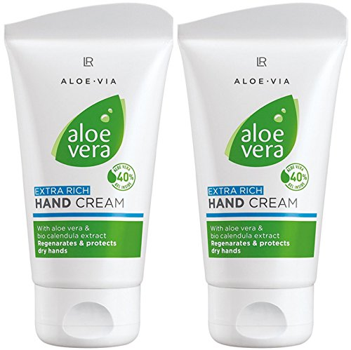 LR ALOE VIA Aloe Vera Extra Reichhaltige Handcreme (2x 75 ml)
