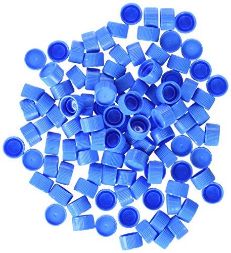 neoLab 7-4541 Schraubverschlüsse für Reaktionsgef, Blau (1000-er Pack)