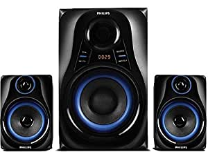 Philips Dhoom MMS2580B Home Theater System (Blue)