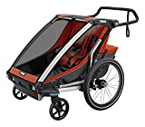 Thule Baby 2 Chariot Cross 2, Rot, One Size