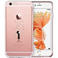 Schutzhülle iPhone 6S, ESR Schutzhülle iPhone 6/6S transparent Cute Motiv Premium weichem TPU Schutz-Etui [stoßabsorbierendes] [Ultra Slim] [kratzfest] für iPhone 6/iPhone 6S 4,7Zoll (Rainbow)