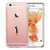 iPhone 6 / 6s funda, ESR iPhone 6 / 6s 4.7'' TPU Funda Dura Parachoques Funda Cover Carcasa Para iPhone 6 / 6s(Arco iris Lluvia)
