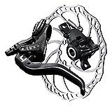 Magura MT4 Bremsenset, Bremse - Bremsscheibe - Centerlock-Adapter - Hydrauliköl MT4, SL 160mm