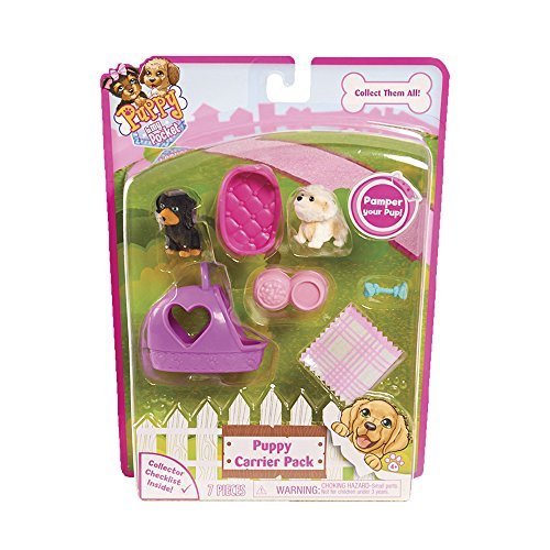 Puppy In My Pocket - Blister 2 Cachorros Purple Carrier (Giochi Preziosi PMP13000)