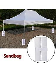 Hunpta Outdoor Camping Vordächer Zelt Feste Markise Marquee Stand Anker Sandtasche Halter