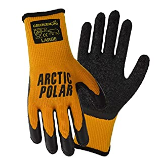 3 X ARTIC POLAR EXTRA WARM EXTRA GRIP WINTER WORKING GLOVE SIZE LARGE (10) YELLOW