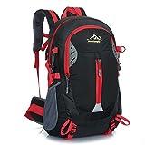 YUMOMO 40L impermeable Mochila de senderismo Trekking Camping Viajes al aire libre deporte mochila Pack Alpinismo escalada bolsa de mochila (negro)