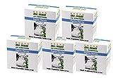 SPARSET: 5 Packungen Agilis-Spray getränkte Tücher - mit speziellen Kräuterextrakten. Für schnelle Anwendung für Haut an Knie, Füße, Beine, Rücken, Nacken oder Schulter