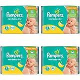 172 PAMPERS couches New Baby-Dry Taille 2 - 3 à 6 kg