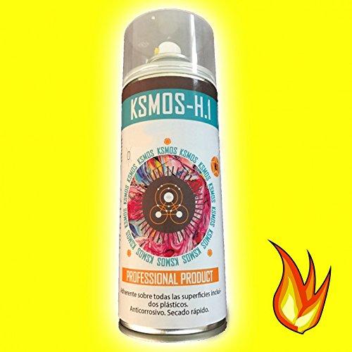 WrapWorkers Spray de Pintura anticalórica para Coche y Moto Amarilla (Brillo)