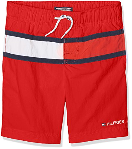tommy-hilfiger-boys-ame-flag-swimshort-swim-shorts-red-mars-red-164-manufacturer-size-14