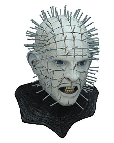 ad Deluxe Zenobiten Maske (Pinhead Hellraiser Kostüm)