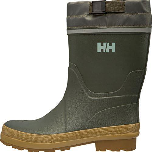 Helly Hansen Pathfinder, Botas de Agua para Hombre, Verde (Forest Night/Dark Gum/451), 44 EU
