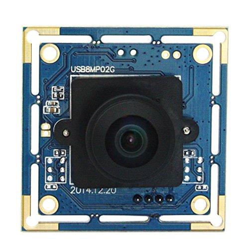 ELP 8MP IMX179 Sensor USB überwachungskameras Modul 3264X2448 Mjpeg 15fps 180 Grad Fisheye-objektiv Video Kamera Fisheye-video