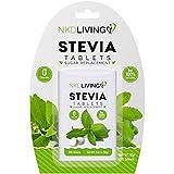 * NUOVO DESIGN * NKD Living Pure Stevia Dolcificante compresse - 200 compresse - * Non amaro *