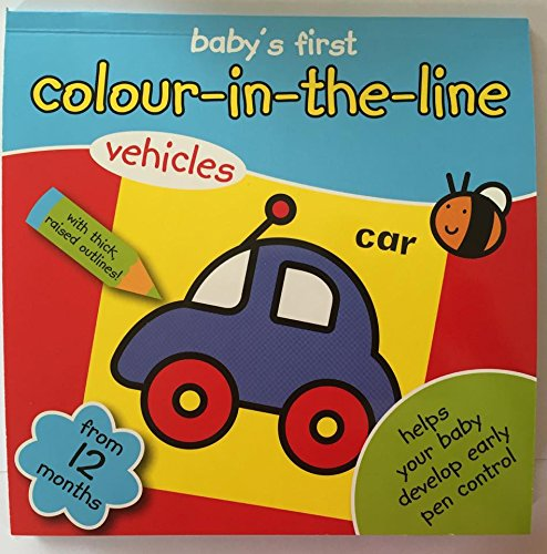 Range Wholesale My Colouring Book Babys First Colouring Book Colour in the line From 12 Months