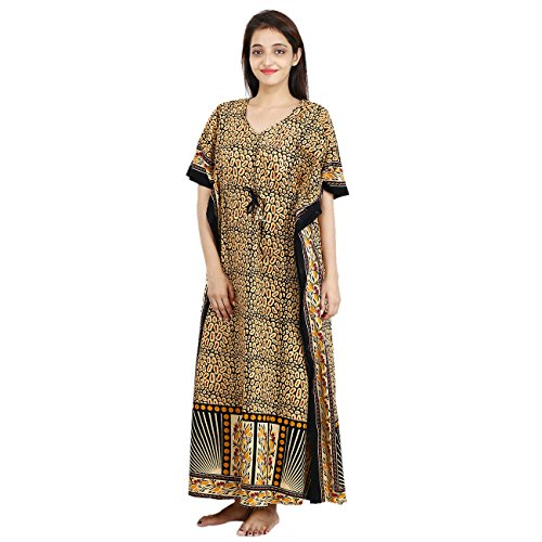 Womens Night Dress Cotton Nightwear Long Maxi Gown