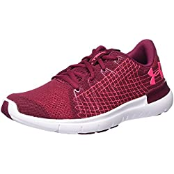 Under Armour Ua W Thrill 3 Zapatillas de Entrenamiento para Mujer, Rojo (Black Currant/White/Penta Pink), 38 EU