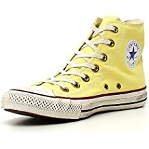 2converse all star gialle