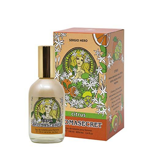 AROMASECRET Citrus Eau de Toilette für Damen, 100 ml – NEUES Parfümkonzept – Die beste Geschenkidee für SIE