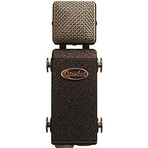 Violet Design - Microfono a condensatore, vintage, Amethyst, colore: blu scuro