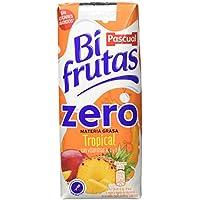 Bifrutas - Tropical Zero - Bebida Refrescante de Leche y Zumo de Frutas - 3 x