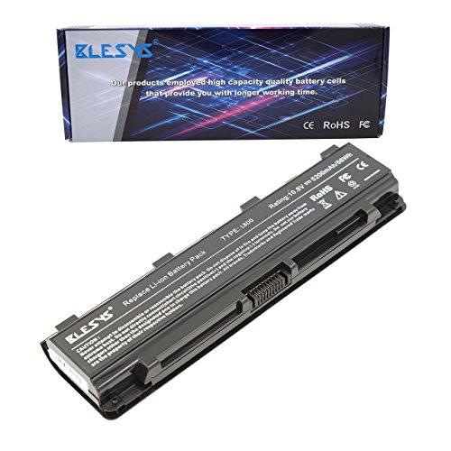 BLESYS 6-Cell PA5024U-1BRS batería Toshiba Satellite C800 C850 C850D C855-S5206 C855-S5214 C855D C870 L800 L830 L855 L870 P800 batería de portátil Reemplazo para PA5023U-1BRS PA5025U-1BRS PABAS259