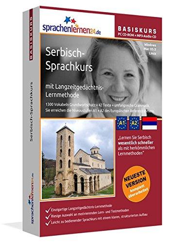 Sprachenlernen24.de Serbisch-Basis-Sprachkurs: PC CD-ROM für Windows/Linux/Mac OS X + MP3-Audio-CD...