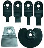 Einhell 4465010 Set d'accessoires pour outil multifonctions 6 pièces
