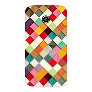 Gorgeous ColorFull Ribbons Print Back Case Cover for Moto E