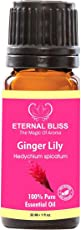 Eternal Bliss Ginger Liliy Essential Oil(Hedychium spicatum) 100% Pure & Natural/Therapeutic Grade Aromatic Oil, uncut Essential Oil (30ML)